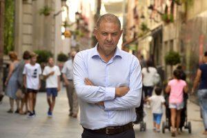 Entrevista a Lucas Jimenez, presidentes SCRATS- Sindicato central de regantes de Murcia. © Nacho Garcia 1/9/2017