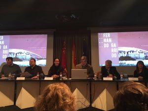 Fernado Garrido, segundo por la izquierda.
