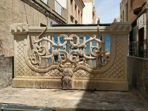 Uno de los balcones salvados del derribo. / LEGADO