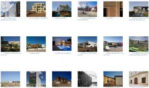 Algunos de los proyectos presentados.