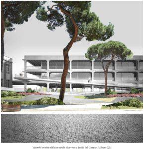 Diseño del nuevo edificio de la Escuela de Arquitectura de la UPCT.