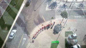Vista de Juan Carlos I desde el edificio JC1. / M RUBIO