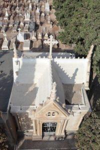 Panteón de Juliana Granados. J. SÁNCHEZ CALVENTUS