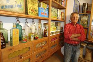 Antonio Paredes, en el museo. J. F. Belmar