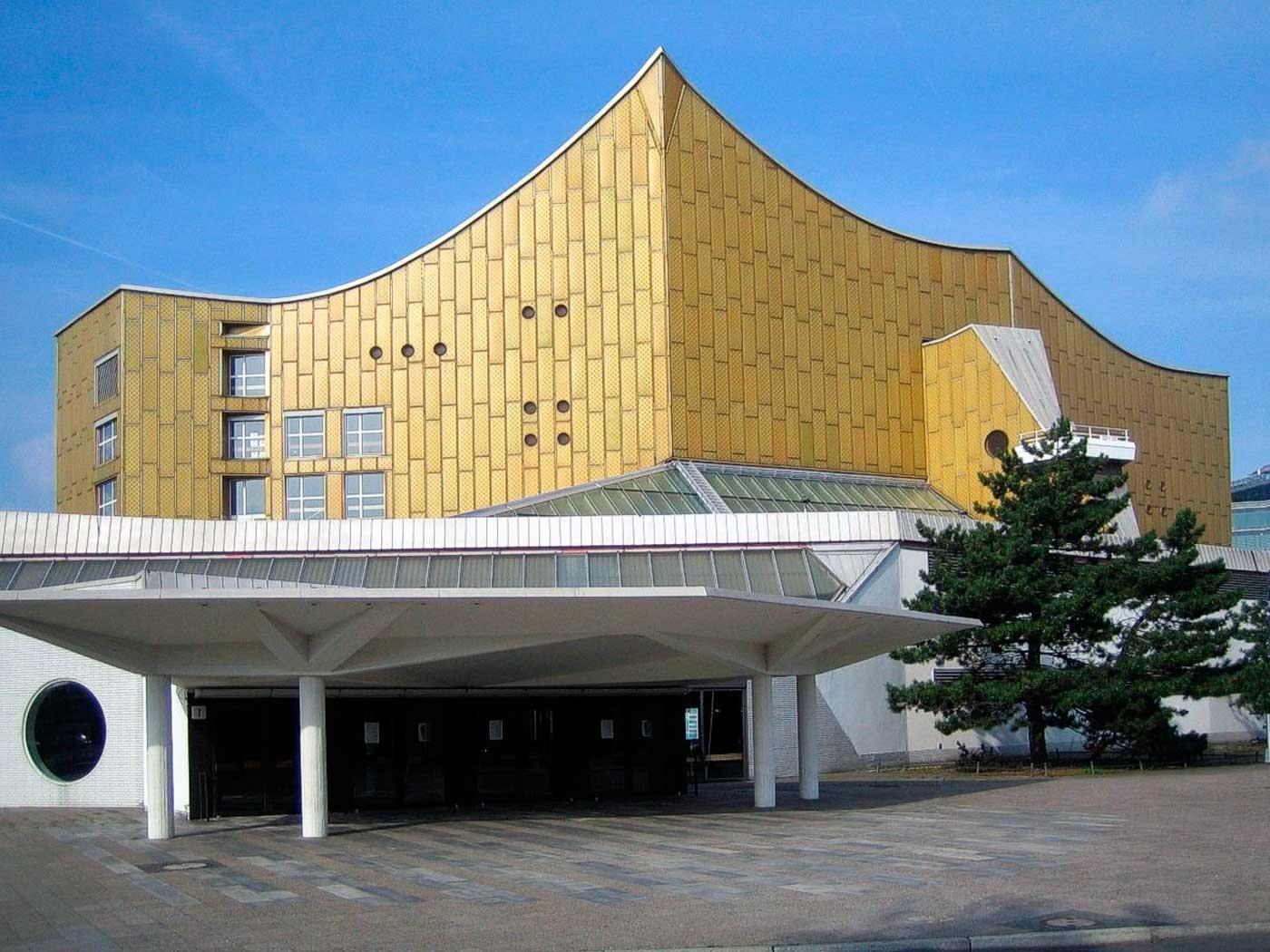 El pent gono dorado m sica inesperada blogs for Exterior edificios