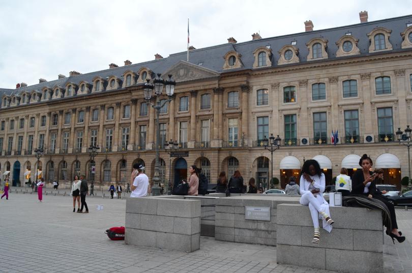 Instantánea tomada en Place de la Concorde, París