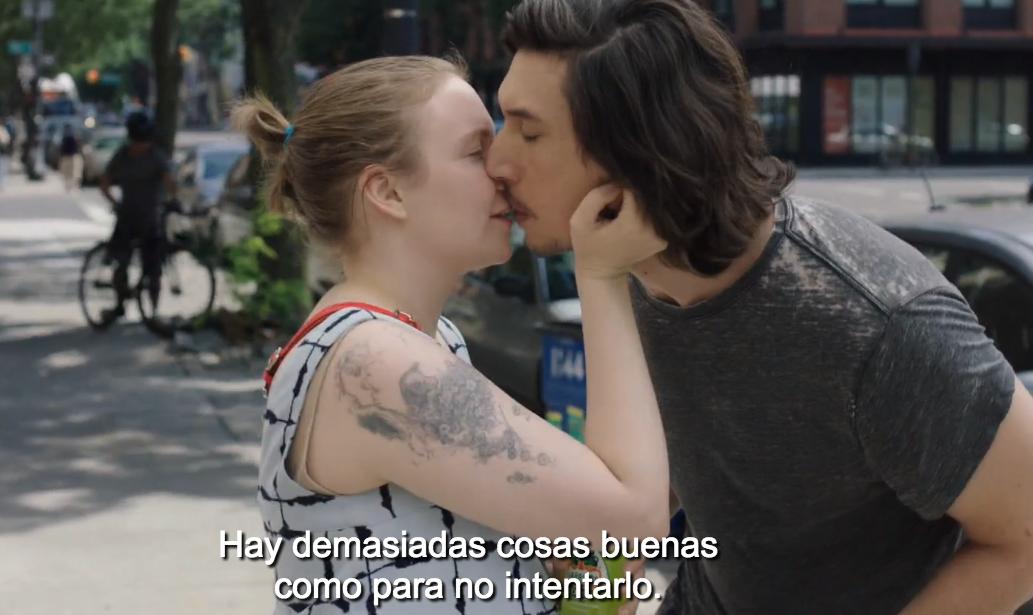 La mejor pareja del mundo: Hannah Horvath y Adam Sackler, de Girls (HBO)